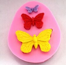 FD2207 Butterfly Silicone DIY Sugarcraft Fondant Mold Cake Chocolate Bake Mould