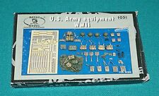 U.S. Army Equipment WWII Royal Model 1/35 Complete & Unstarted.
