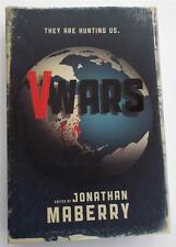 New  SIGNED  Jonathan Maberry  V-WARS  A Chronicle of the Vampire Wars Hardcover