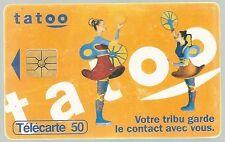Télécarte carte téléphonique Tatoo France télécom