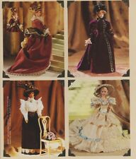 "Vogue 9759  622 11.5"" HIstorical Period Costume Doll Clothes Pattern Linda Carr"