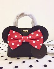 NWT Kate Spade for minnie mouse maise Leather Satchel Crossbody Bag