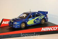 SCX Scalextric Slot Ninco 50308 Subaru WRC Swedish Rally 2005 Uddeholm