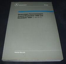 Werkstatthandbuch Mercedes W 124 S-Klasse W 126 190 201 2.5 16V 200 E TE 560 SE