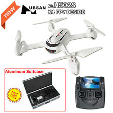 Hubsan X4 H502S FPV GPS Quadcopter 720P Camera RTF Drone Helicopter+Aluminum Box