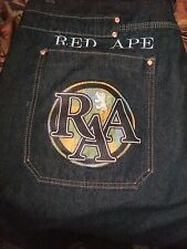 MEN'S RED APE JEANS
