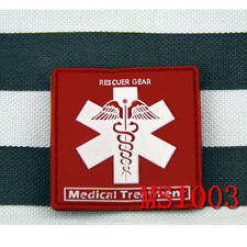 Wholesale Lot Rubber Medical Treatment Rescuer Gear Morale Tactical Magic Patch