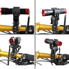 360 Degree Bicycle LED Flashlight Mount Holder For Bicycle Torch Clip Clamp