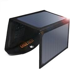[High Efficiency]CHOETECH 19W Portable Solar Charger With Smart Charging Tech /