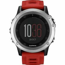 Garmin FENIX 3 ARGENTO GPS Running Triathlon GLONASS Sports GPS WATCH attività