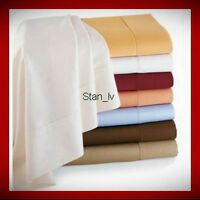 EGYPTIAN COMFORT DELUXE 1500 TC DEEP POCKET BED SHEET SET 4 PIECES 12 COLORS