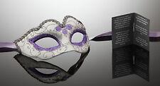 kleine original venezianische Maske für Karneval Maskenball Handmade