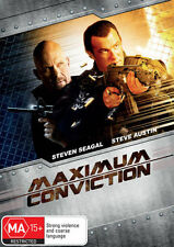 Maximum Conviction * NEW DVD * Steven Seagal Steve Austin Michael Pare