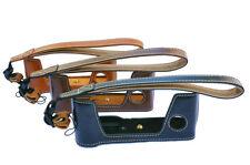 Leather Half case Grip hand strap for Fujifilm X-Pro2 Camera