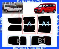 Pellicola Oscurante Vetri Auto Pre-Tagliata Fiat Doblo Maxi 2010-... da 5% a 50%