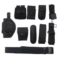 Multi purpose Enforcement Police Tactical Duty Belt Modular Security Equipment