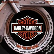 Various ‎– Harley-Davidson One For The Road - 2 CDs -  EMI ‎– Holland 1995