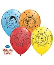 "Winnie The Pooh 11"" Latex Balloons x 5 Birthday Party Decoration Supplies"