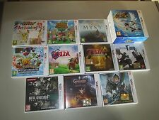11 game 3DS Zelda Pokemon Castlevania Animal Crossing Monster Hunter Kid Icarus