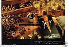 Publicité advertising 1989 (2 pages) Le Café El Gringo de Jacques Vabre