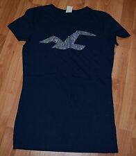 HOLLISTER By ABERCROMBIE & FITCH Women's JRS Sz L Tee T-Shirt  EUC