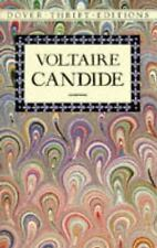Candide (Dover Thrift Editions), Voltaire, Very Good Book