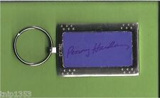New Blue/Chrome Nike Penny Hardaway Metal Key Chain  1 1/2 inches x 2 inches