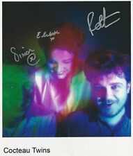 Cocteau Twins SIGNED Photo 1st Generation PRINT Ltd 150 + Certificate (1)