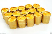 Wholesale 30PCS Golden Jewelry Gift Earring Ring Round Packing Box Boxes