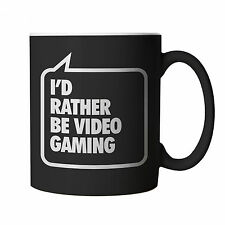 I'd Rather be Video Gaming Mug - Gift for Boyfriend etc Birthday Christmas