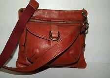 FOSSIL Sasha Authentic Genuine Leather Vintage Style Crossbody Messenger Purse