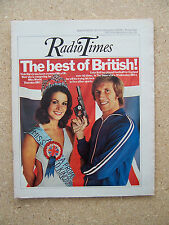 Radio Times/1975/Colin Bell/Miss World/Aaron Copland/Alan Plater Trinity Tales/