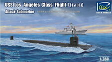 Riich Models RN28005 1/350 USS Los Angeles Class Flight I (688) Attack Submarine