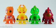 RHND MUTANT MINIS 4 PACK VINYL FIGURES REAL X HEAD JAPANESE COOL
