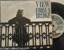 "KIM WILDE - View From A Bridge  ~ 7"" Single PS"