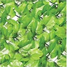 Artificial Ivy Hedge Screening 3m x 1m roll Fence Garden Wall Cover Green Leaf
