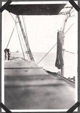VINTAGE 1925-35 USA MILITARY NAVY SHIP CHEFOO HONG KONG SHANGHAI CHINA OLD PHOTO