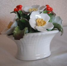 """VINTAGE AYNSLEY OF ENGLAND SIGNED AND HAND PAINTED. """"DECEMBER CHRISTMAS ROSE"""""""
