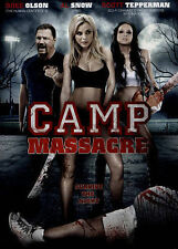Camp Massacre (DVD, 2015) Bree Olson, Al Snow, Scott Tepperman  ***NEW!!***