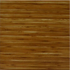 Wood Bamboo Vinyl Floor Tiles 20 Pcs Self-Adhesive Flooring - Actual 12'' x 12''