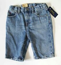 Ralph Lauren Boys Denim Skater Shorts Biddeford Wash Sz 10 - NWT