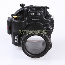 40M 130ft Underwater Waterproof Housing Case for Olympus OMD E-M1 12-40mm Camera