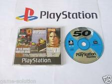 playstation 1: official uk playstation DISC 50 -demo disc- with final fantasy 8