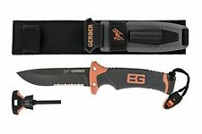 Gerber Bear Grylls Ultimate Knife, Partially Serrated Edge [31-000751] New