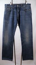 New Double RL RRL Portland LOW STRAIGHT AMERICAN SELVEDGE JEANS 36 X 32 NWOT