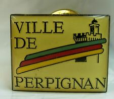 Perpinya Perpignan used Hat Lapel Pin Tie Tac HP1263