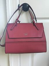 Guess Bellingham Handbag Satchel Cherry Red  NWT