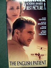 The English Patient (1996, Digitally Mastered, VHS) Ralph Fiennes