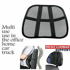Vent Cushion Mesh Back Lumbar Brace Support Car Office Chair Truck Seat NEW