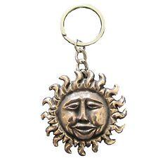 Schlüsselanhänger Sonne 5 cm Bronze Key Chain sun